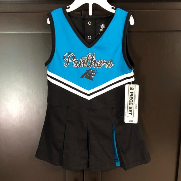 Carolina Panthers Cheer 3T NWT 35a597b2d